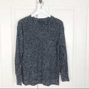 Sanctuary Marled V-neck Sweater